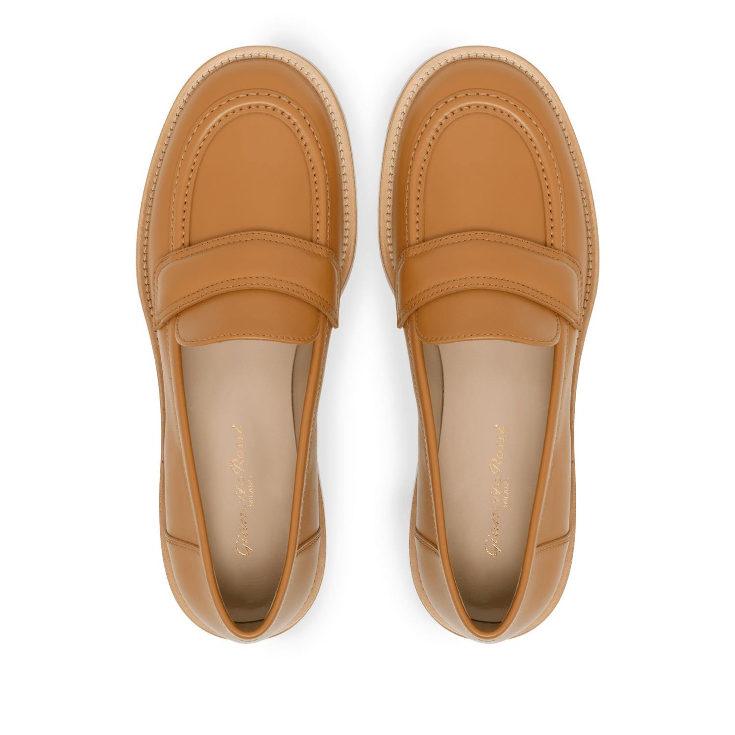 Womens Gianvito Rossi Flats | Bedford Sienna Brown
